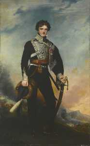 Henry Wyndham Phillips - Majeur ( plus tard major général , Monsieur ) norcliffe norcliffe ( 1791–1862 ) , 18th dragoons légers ( Hussards )