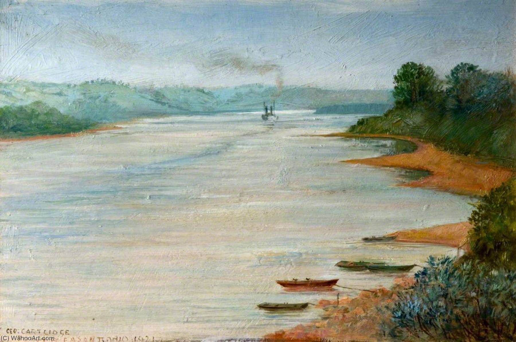 point agréable , Ohio , ETATS-UNIS, 1921 de George Cartlidge | Reproduction Peinture | WahooArt.com