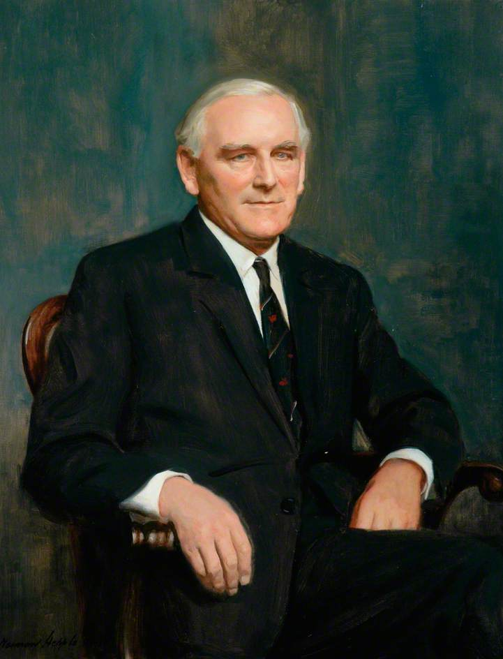 Monsieur Henri Johnson , Président , british railways Planche ( 1968–1971 ) de Norman Hepple | WahooArt.com