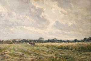 Frederick William Newton Whitehead - près de moreton , Dorset