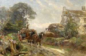 Frederick William Newton Whitehead - apportant dans  au  moisson