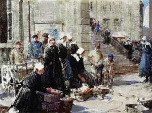 William Lee Hankey - Beurre Marché , Concarneau