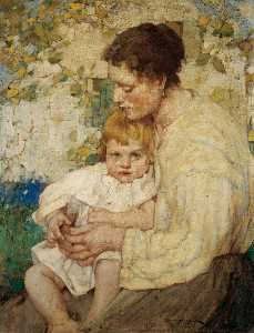 William Lee Hankey - mère et l enfant