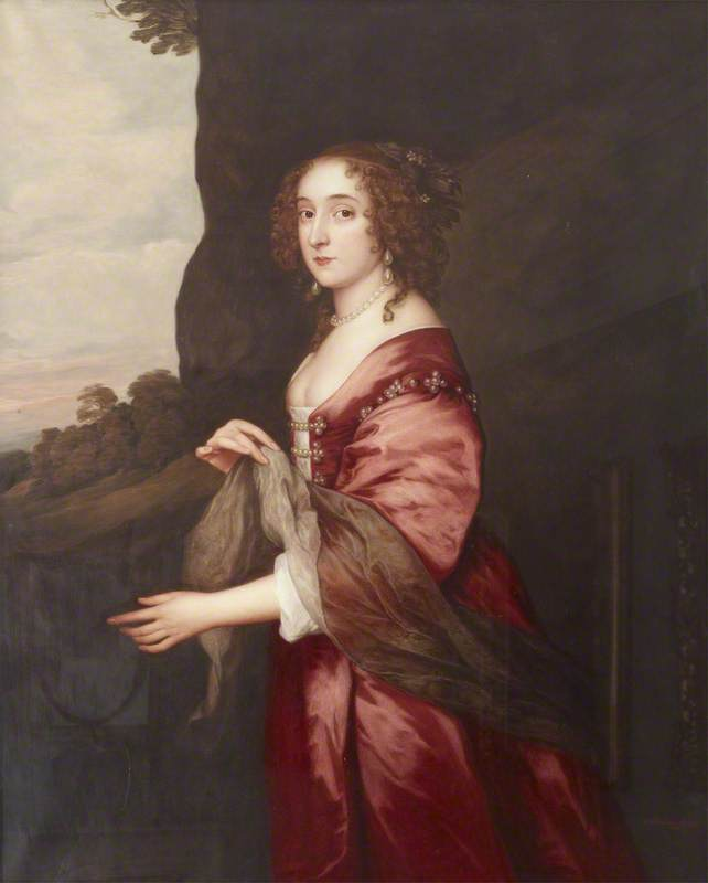 l'honorable elizabeth hervey ( c . 1610 1620–1700 ) , l'honorable mme john Hervey ( après anthony van dyck ), 1913 de Dorofield Hardy | WahooArt.com