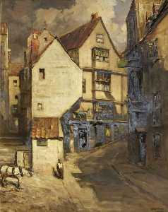 Francis Abel William Taylor Armstrong - maisons abrupt  rue