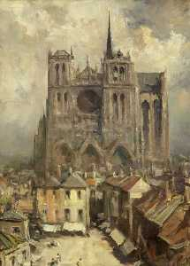Francis Abel William Taylor Armstrong - Amiens Cathédrale