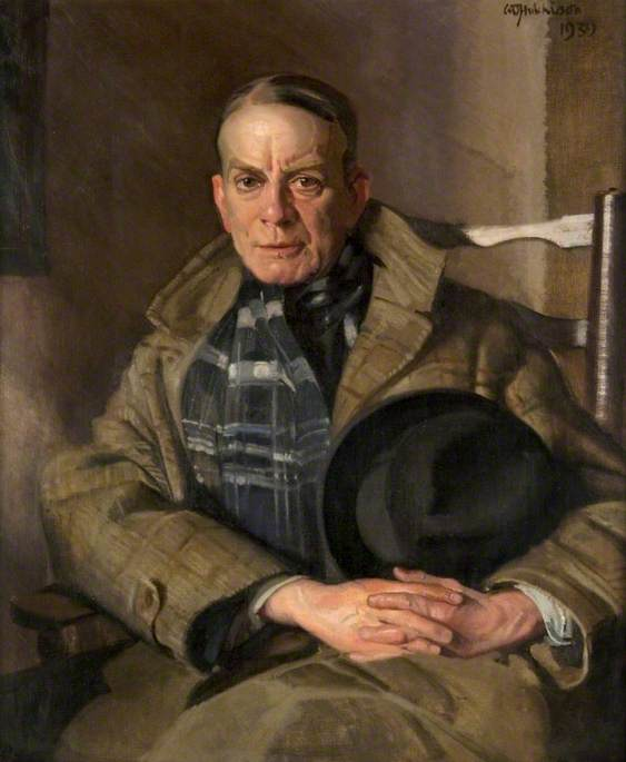 hugh munro ( 1870–1916 ), huile sur toile de William Oliphant Hutchison