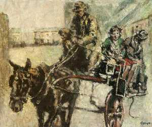 William Conor - Jaunting Voiture