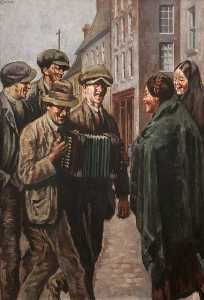 William Conor - le melodeon joueur