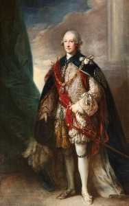 Thomas Gainsborough - hugh percy , 1st Duc de Northumberland