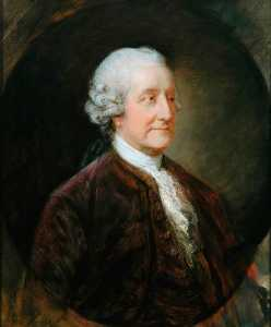 Thomas Gainsborough - john montagu , 4th Comte de Sandwich