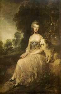Thomas Gainsborough - Mme . Marie Robinson ( Perdita )