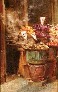 Percy Harland Fisher - italien fruits  écurie