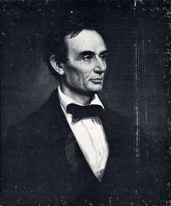 Achat Reproductions D'art | abraham lincoln , ( peinture ), 1860 de George Peter Alexander Healy (1813-1894, United States) | WahooArt.com