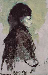 Romaine Brooks - Demoiselle noble en deuil