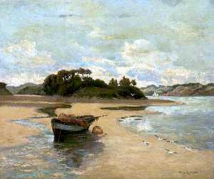 Percy Robert Craft - l estuaire , Devonshire