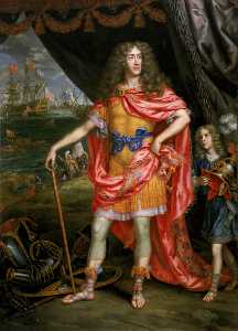 Henri Gascars - James , Duc de York ( 1633–1701 )