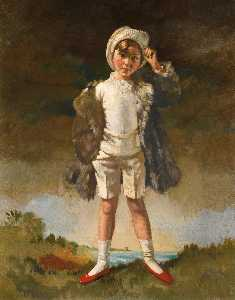 William Newenham Montague Orpen - Noll Fils de Oliver St . john gogarty