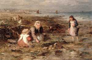 William Marshall Brown - le mussel cueilleurs