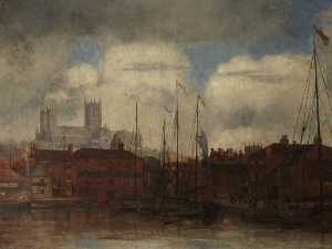 Bernard Sickert - Lincoln Cathédrale