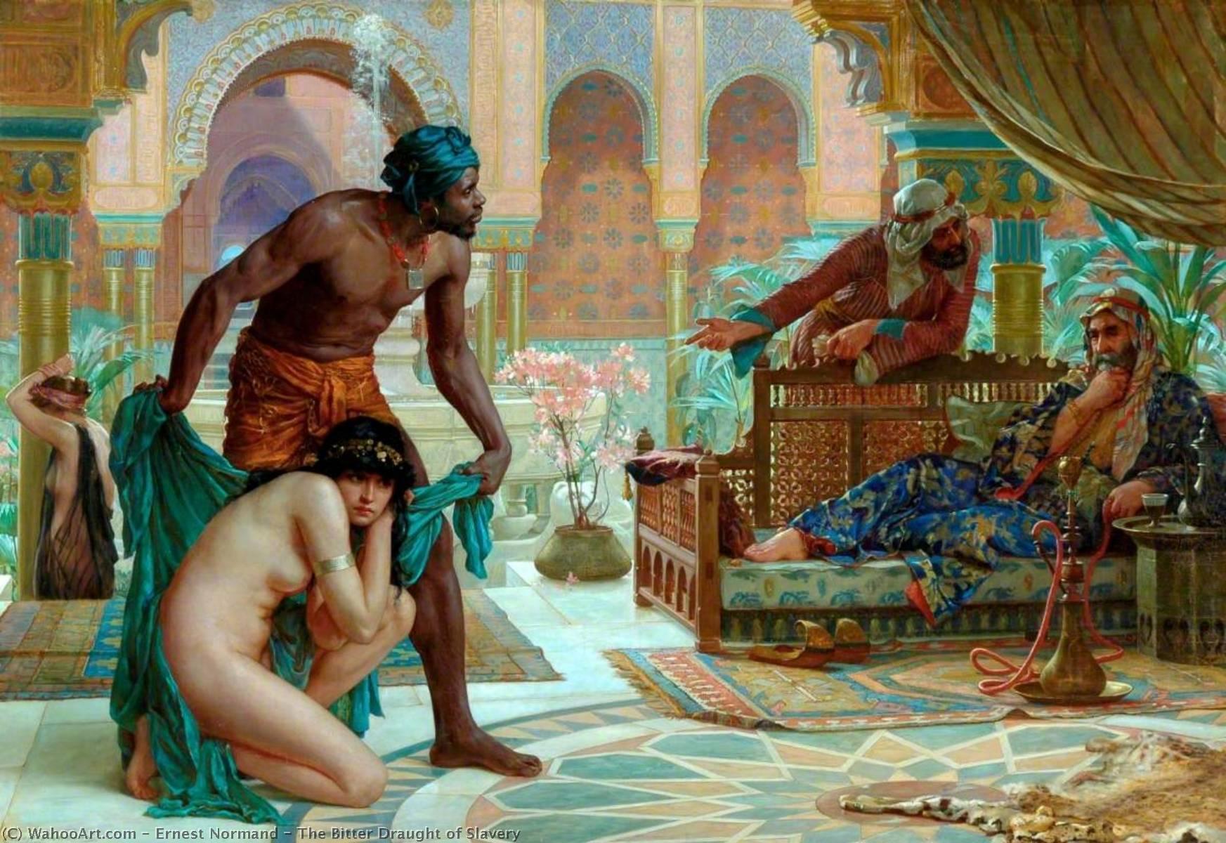 едкий проект рабства 1885 года Эрнеста Норманда (1857-1923) |  Репродукции Эрнеста Нормана |  WahooArt.com