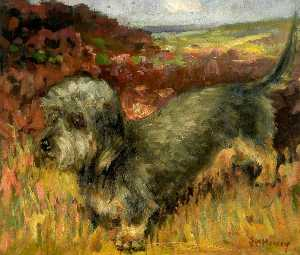 John William Howey - le terrier Chien