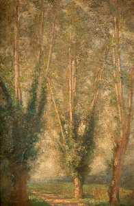 Percy Gleaves - Trois arbres