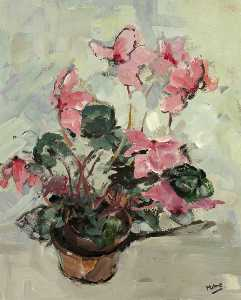 Arthur Edwards Milne - Cyclamen