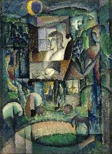 William Zorach - un cheval  agrarien