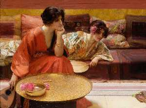 Henry Siddons Mowbray - tourner au ralenti heures