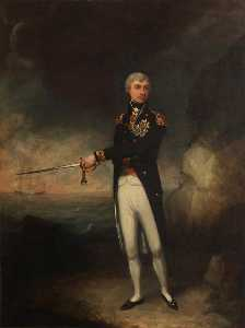 John Rising - Le vice Amiral horatio nelson ( 1758–1805 ) , 1st Vicomte Nelson