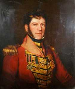 John Ponsford - major général Monsieur edmund keynton williams ( 1778–1850 ) , KCB , KTS , Commandant 41st Pied ( 1827–1837 )