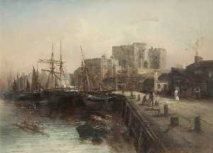 Max Crouse - castle rushen et harbour
