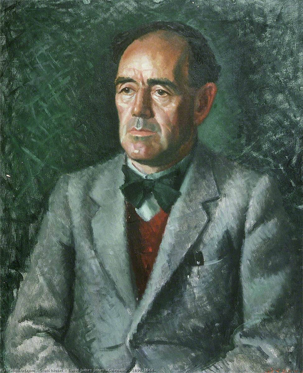 david james jones ( Gwenallt ) ( 1899–1968 ), 1949 de Scott Nisbet | WahooArt.com