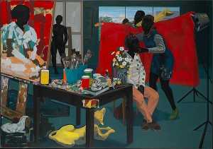 Kerry James Marshall - sanstitre atelier
