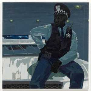 Kerry James Marshall - sanstitre agent