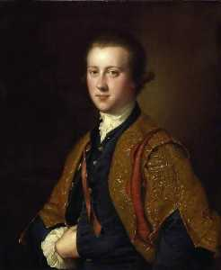 Joseph Wright Of Derby - l'honorable richard fitzwilliam
