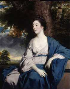 Joshua Reynolds - l'honorable Marie Vernon ( 1739–1843 ) , mme george ( Adams ) Anson
