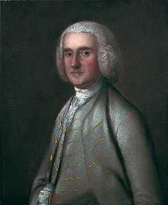 Thomas Gainsborough - john sparrowe , Huissier de Ipswich