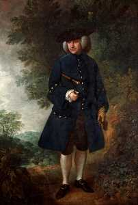 Thomas Gainsborough - dr rice charleton ( 1722 1723–1788 )