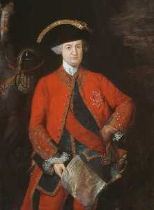 Thomas Gainsborough - Robert , lord clive ( 1725–1774 ) , en général Officer's Uniforme
