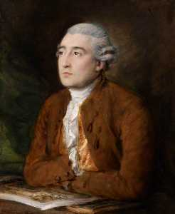 Thomas Gainsborough - philippe jacques de loutherbourg ( 1740–1812 )
