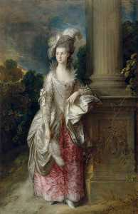 Thomas Gainsborough - l'honorable mme  de Graham  1757–1792