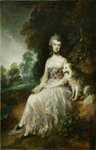 Thomas Gainsborough - mme mary robinson ( Perdita )
