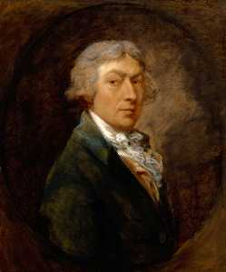 Thomas Gainsborough - autoportrait