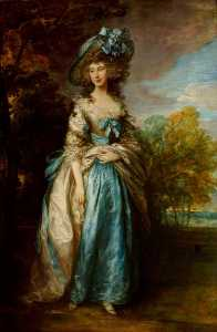 Thomas Gainsborough - sophia charlotte digby ( 1767–1835 ) , lady sheffield