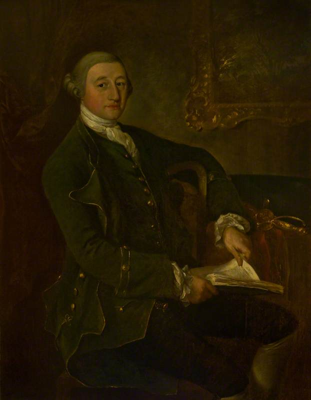 Acheter Reproductions D'art De Musée | Richard Sauvage nassau de zuylestein ( 1723–1780 ) , deuxième fils de l 3rd Comte de Rochford de Thomas Gainsborough (1727-1788, United Kingdom) | WahooArt.com