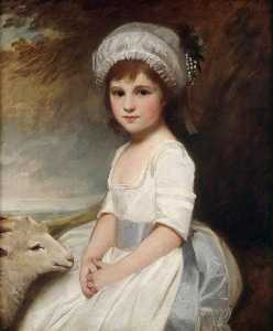 George Romney - Mlle martindale