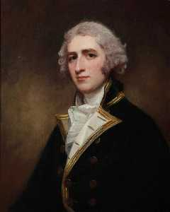George Romney - Capitaine William Bentinck 1764–1813
