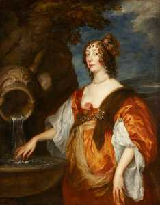 Anthony Van Dyck - lady lucy percy ( c . 1600–1660 ) , comtesse de carlisle